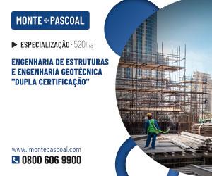 """Publicidade: Engenharia de Estruturas e Engenharia Geotécnica """"Dupla Certificação"""""""