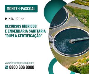 """Publicidade: MBA Recursos Hídricos e Engenharia Sanitária """"Dupla Certificação"""""""